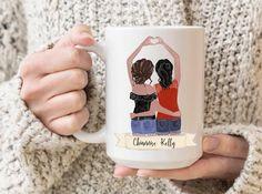Best Friend Mug, Friend Mugs, Best Friend Gifts, Christmas Gifts For Friends, Christmas Mugs, Youre My Person Mug, Cute Birthday Gift, Name Mugs, Personalized Coffee Mugs