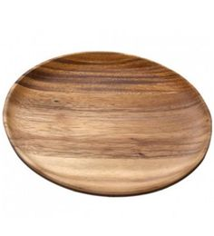 Acacia Wood Round Serving Plate (Large), Set of 4 -- Our Set of 4 Acacia Wood Round Large Plate set is not only sustainable, but it also bestows a sleek and casual cool to occasions of every kind. These plates are handmade and boast a clean and simple round design that blends easily with any table setting. Created using sustainable Acacia wood, these plates are dense with beautiful grains.