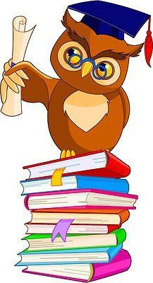 Illustration about Illustration of a cartoon wise owl with graduation cap and diploma sitting on pile book. Illustration of studying, graduation, literature - 18940777 Owl Clip Art, Owl Art, Owl Classroom, Flowery Wallpaper, Owl Cartoon, Free Cartoons, Card Sentiments, Wise Owl, Baby Owls