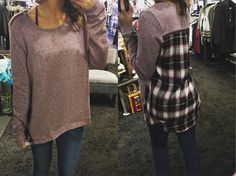 """Perfect for Fall:: """"Illusions Plaid Top"""""""" ($52) Gotta  FREE SHIPPING! Call to order 440.893.9279 or email: sales@sanitystyle.com #sanitystyle #sanitychagrinfalls #shoplocal #chagrinfalls #shopchagrinfalls #boutique #freeshipping #cleveland #clevelandfashion #clevelandstyle #style #shop #cle #thisiscle #love #selloninsta #instasale #fashionpost #beautiful #picoftheday #shopping #shopaholic #shopinstagram #obsessed"""