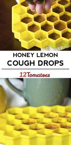 Honey Lemon Cough Drops