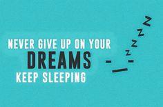 En al slaperig?