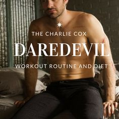For those of you who are living under a box, Netflix released it's Daredevil series early this month.  Just like other Netflix series, I naturally had to binge watch it.  Took me a few days, but it was amazing.  Alright, that's not the point - the point is Daredevil and his workout.  Charlie Cox…