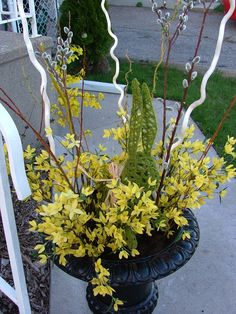 spring urns - Google Search