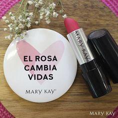 Campaña solidaria de Mary Kay: El Rosa Cambia Vidas con el Lápiz de Labios Gel Semi-Mate Powerful Pink #ElRosaCambiaVidas #LápizdeLabios #GelSemiMate en www.rincondebelleza.com #maquillaje