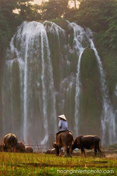 Vietnam Images-Nature-Landscape-Waterfall phong cảnh việt nam