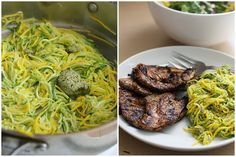 Yummy Recipes: Zucchini noodles and balsamic roasted chicken recipe