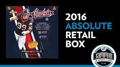 2016 Panini Absolute Football Retail Premium Box Break