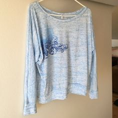 Cowgirl Tuff long sleeved shirt Super soft and cute! Only worn a couple times. Design is on the front and back. Cowgirl Tuff  Tops Blouses