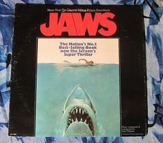 John Williams Jaws Original Soundtrack (1975, Soundtrack LP Vinyl Record)$30
