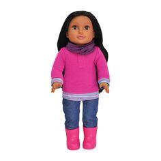 """Newberry Dolls 18"""" Doll: Amara"""