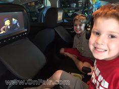 2015 NISSAN ALTIMA customer review for headrest DVD Player install. #headrestdvdplayer #familydriving