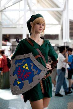 Link Legend of Zelda cosplay