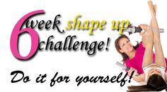 Take the stress and expense out of #exercise with the Free 6 Week Shape UP Challenge!