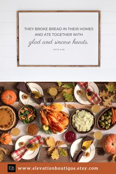 """This farmhouse style wall art would be perfect in a country kitchen or dining room! Especially, around the holidays and Thanksgiving! It says """"They broke bread in their homes and ate together with glad and sincere hearts"""" Acts 2:46. This scripture poster comes unframed, so you can pick a farmhouse style frame that matches your country kitchen or dining room decor (frame not included)! Don't wait! Order yours now! #countrykitchenwallartfarmhousedecor #theybrokebreadintheirhomessign Modern Farmhouse Style, Farmhouse Style Decorating, Farmhouse Decor, Cheap Wall Decor, Home Decor Wall Art, Room Decor, Kitchen Wall Art, Kitchen Decor, Acts 2 46"""