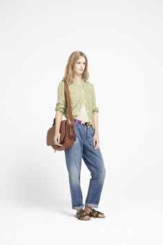The all-over vintage boyfriend jean from Bellerose Casual