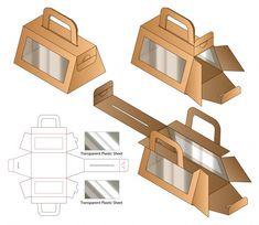 Craft Packaging, Cool Packaging, Cardboard Packaging, Packaging Design, Box Packaging Templates, Paper Gift Box, Diy Gift Box, Diy Box, Paper Boxes