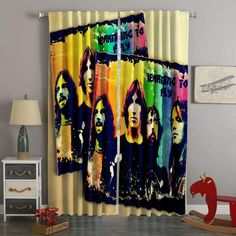 How Casual Curtains Can Become Decorative? Long Shower Curtains, Cute Curtains, Roman Curtains, Elegant Curtains, Printed Curtains, Bedroom Curtains, Blackout Curtains, Contemporary Decorative Pillows, Contemporary Curtains