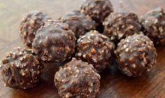 Σοκολατάκια Ferrero Rocher με 4 υλικά - Media