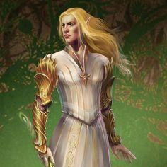 Speaking of Glorfindel, here is original concept for our project T H E S U N S E T K I N G D O M - tolkiens_legendarium Tolkien Hobbit, The Hobbit, Glorfindel, Lotr Elves, Balrog, Portraits, Dark Elf, Fantasy Images, Thranduil