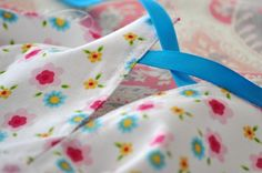 Our 3 Sons Plus 1...Super Cute Girly Girl: Tutorial Time- Charming Drop-Waisted Dress With Pockets & Ribbon Ties
