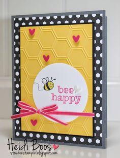 Stuck on Stampin': SSINK Convention Display Board Samples - top 2 favorites! (Heidi Boos, Sweet Stuff)