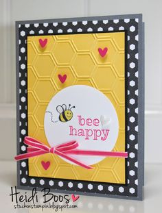 Stuck on Stampin': SSINK Convention Display Board Samples - top 2 favorites! (Heidi Boos, Sweet Stuff)