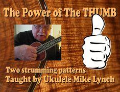 Thumb stroke patterns taught by Ukulele Mike from the FJH Music Company… Ukulele Songs Beginner, Uke Songs, Cool Ukulele, Ukulele Chords, Reggae Style, Learning Process, Fun Learning, Music Lessons, Playing Guitar