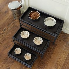 Pet Food Tray & Stand by Ballard Designs