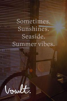 Summer sun. He burns my skin.