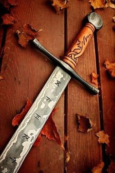Vikings Sword| Reminds me of Geralt's silver sword from Witcher …