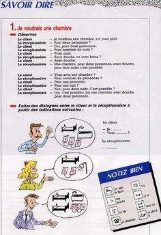 Demandez votre chambre à l'hôtel... comment diriez-vous ? (Bienvenue en France) www.learnfrench-visitfrance.com