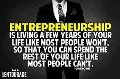 Entrepreneurship is....