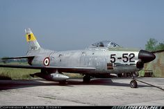 North American (Fiat) F-86K aircraft picture