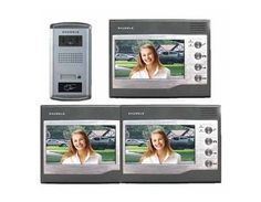 ZDL-027C3+28T Home Security Video Door Phone Intercom with 7inch TFT LCD Screen by QLPD. $1030.54. This is a home security video door phone intercom with 3 indoor units.