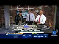 The Reverend Ale Sharpton and The Weather Channel on seasonal beer and weather.  Crazy good stuff!
