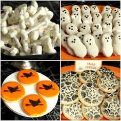Great site for DIY halloween party treats!