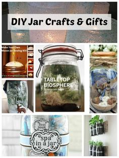 DIY Mason Jar Crafts and Gifts