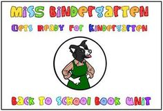 Start the school year off with everyone's favorite kindergarten teacher!  This 80  page unit reinforces beginning of the year skills and combines...