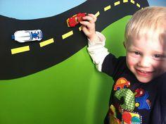 magnetic road in transportation room for boys bedroom   Flickr - Photo Sharing!