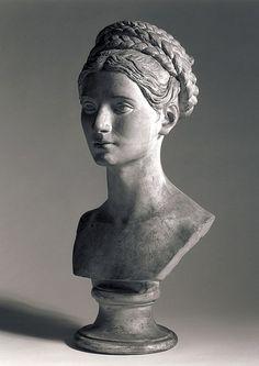 Bertel Thorvaldsen (1770-1844)  Bust of Wilhelmine Benigna Biron 1818