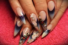 There are so many great nail design ideas around us,today we make a collection of 10 Most Popular Nail Design Ideas for you.We all know nice and neat nails is dream of every woman, and it is a kind… Popular Nail Designs, Great Nails, Design Ideas, Nail Art, Beautiful, Nail Arts