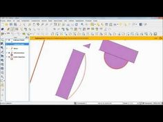 QGis paralelas arcos poligonos - YouTube