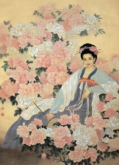 Wang meifang and Zhao Guojing Wang Meifang, is a second-class artist at the Tianjin Academy of Arts and Crafts. Zhao Guojing, is a first-class painter at the Tianjin Academy of Painting. Art And Illustration, Tattoo Aquarelle, Art Chinois, Art Asiatique, Art Japonais, China Art, Art Moderne, Chinese Painting, Traditional Art
