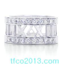 Tiffany & Co Jewelry Atlas Roma Rin Wit Diamond Ring