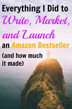 How I hit the top of the Amazon charts with my latest book, including how much I spent on production and marketing, and how much it earned in the first 30 days.