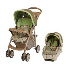 Sawyer's new stroller and carseat!!!