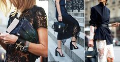 For those nights when you want to give your all-black look a hint of seduction, turn to the high street's latest offering of lace-detailed pieces. The perfect way to inject some sex-appeal into an otherwise pared-back look, from knits to camis we're giving our classic skinny leathers and heels an instant update with these evening-ready pieces.