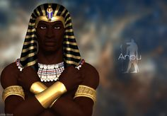 Anpu (Inpew, Yinepu,Anubis) was an ancient Egyptian god of the underworld who guided and protected the spirits of the dead.
