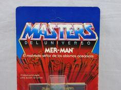 MOTU,Vintage,MER-MAN,8 Back,Spain,Masters of the Universe,MOC,Sealed,He-Man   Juguetes, Figuras de acción, TV, cine y videojuegos   eBay!